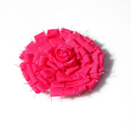 Shabby Chic Flower Hair Clip - Boutique Wedding Collection - Baby Hair UK