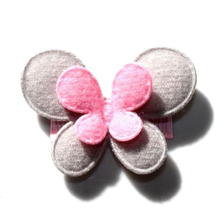 Contrasting Layered Butterfly Hair Clip - Hair Clip - Baby Hair UK