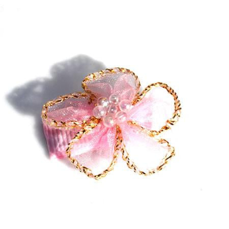 Sparkle Flower Hair Clip - Hair Clip - Baby Hair UK