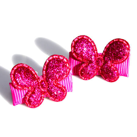 Sparkly Butterfly Alligator Hair Clips - Hair Clip - Baby Hair UK