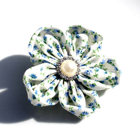 Floral Flower Hair Clip - Boutique Wedding Collection - Baby Hair UK