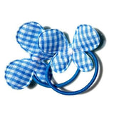Gingham Butterfly Hair Bobbles - Hair Bobbles - Baby Hair UK