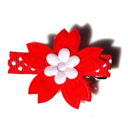 Christmas Flower - Christmas Collection - Baby Hair UK