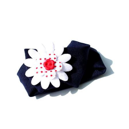 Daisy Button Stretch Headband - Headbands - Baby Hair UK