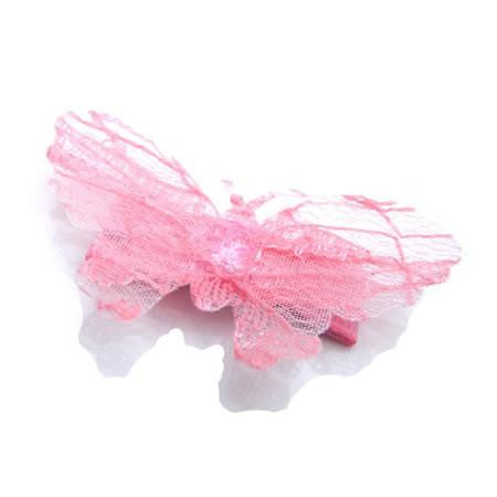 Lace Butterfly Hair Clip - Hair Clip - Baby Hair UK