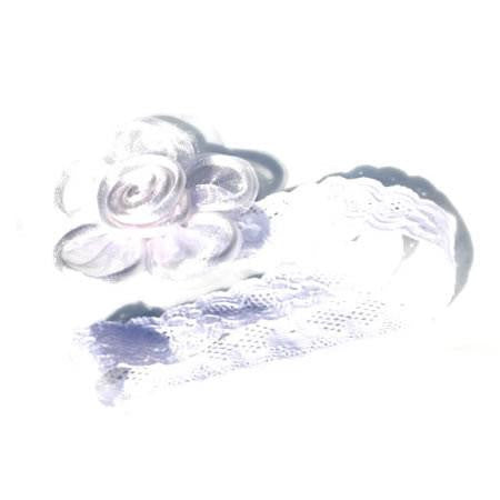 Organza Flower Headband - Headbands - Baby Hair UK