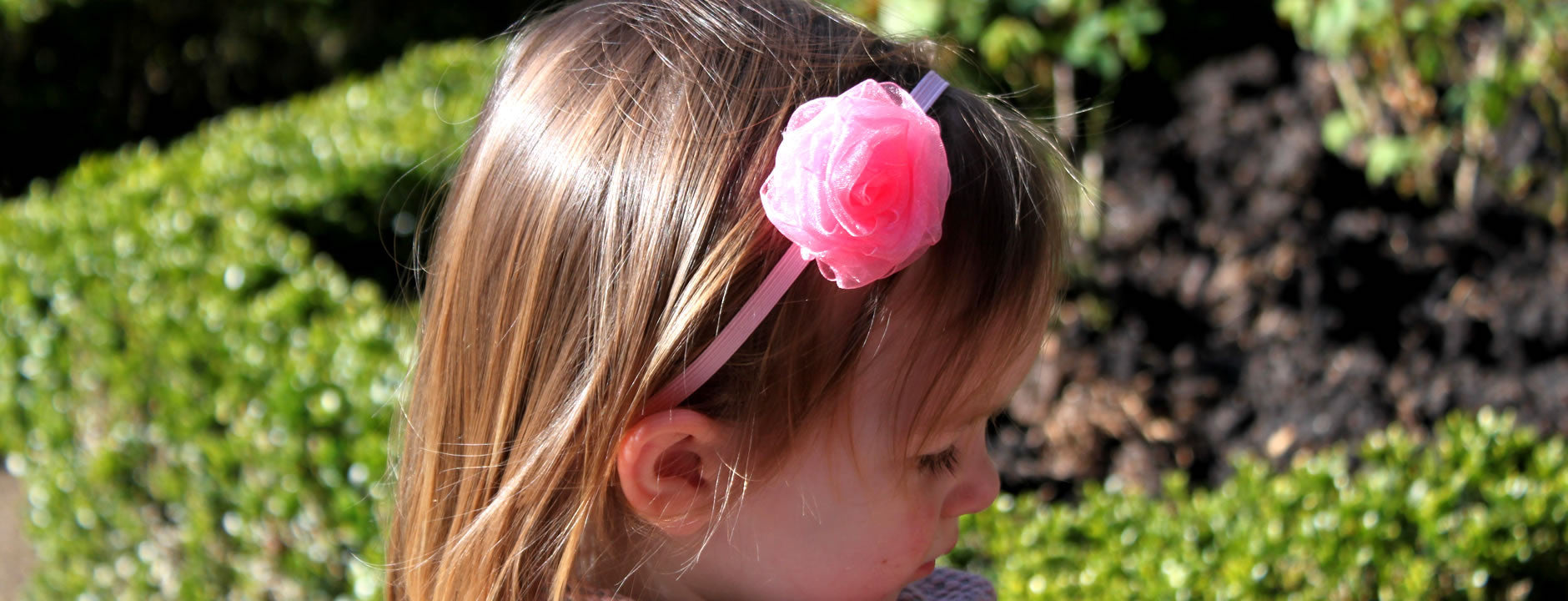 Pink Baby Headband and Hairbands