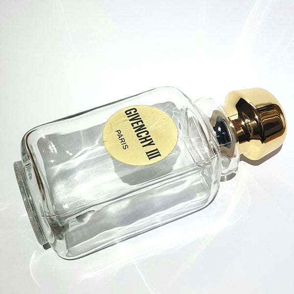 Large Givenchy III Factice Glass Promotional Perfume Display Bottle Circa 1970's France
