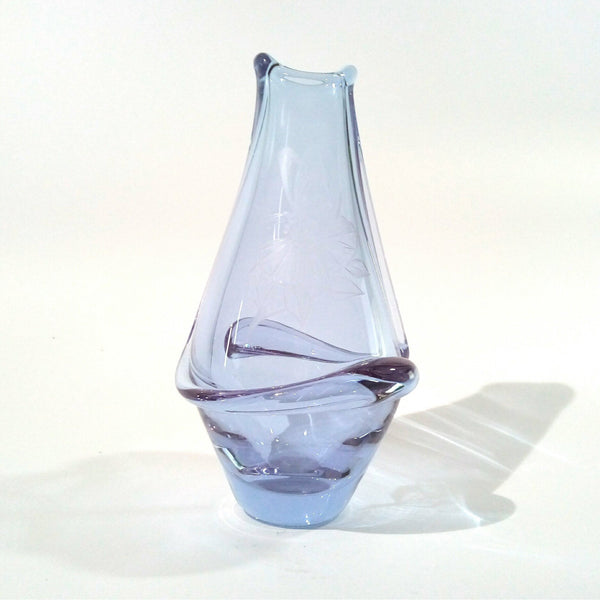 Brod Sklo Lilac Neodymium Glass Vase - Be Bold As Brass