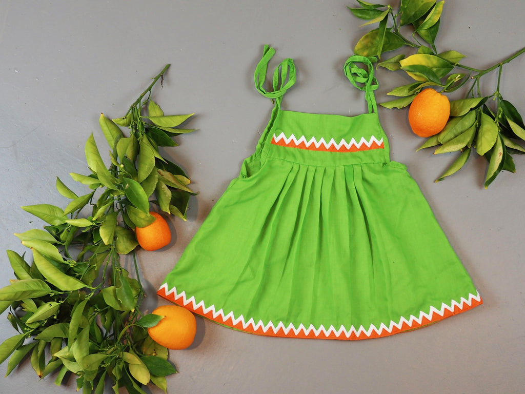 Green Apple Bloomer Set