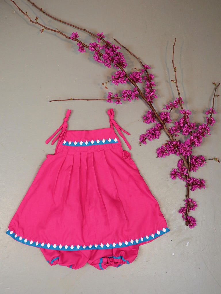 Pomegranate Bloomer Set