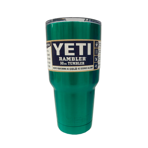 30oz Yeti Tumbler Dark Green -  - 1
