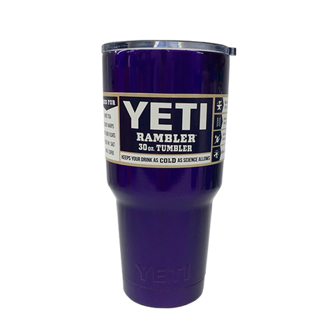 30oz Yeti Tumbler Dark Purple -  - 1