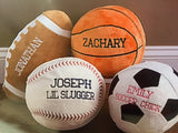 Stuffed Plush Personalized Football Pillow