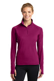 Sport-Tek Ladies Sport-Wick Stretch 1/2 Zip Pullover LST850
