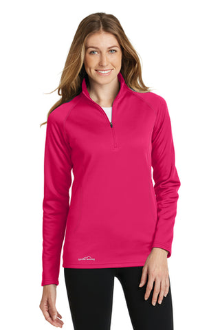 Eddie Bauer Ladies 1/2 Zip Base Layer Fleece EB237