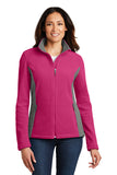 Port Authority Ladies Colorblock Fleece Jacket L216