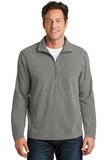 Port Authority Heather Microfleece 1/2 Zip Pullover F234