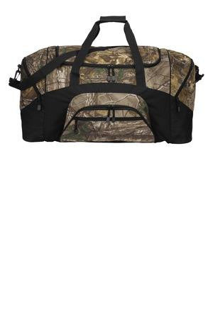 Camouflage Colorblock Sport Duffel Bag