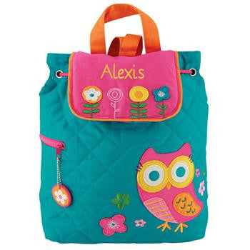 Owl Quilted Backpack (Girl)