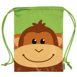 Monkey Drawstring Bag