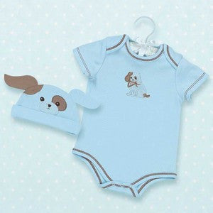 Waggles Onesie and Hat Set