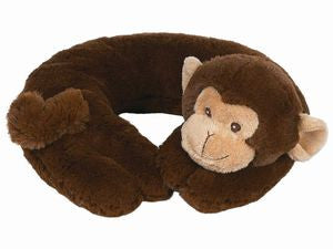 Giggles Monkey Travel Pillow