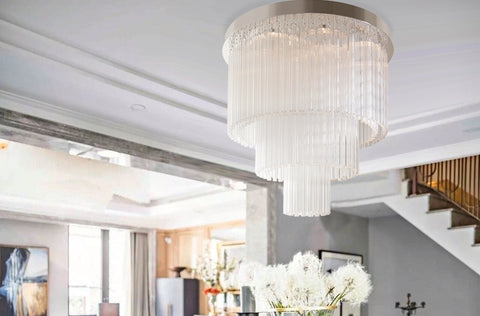 Transitional Home Design--Mixing Traditional and Modern Lighting