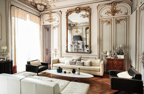 Parisian home with ornate original accents