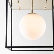 Allister Geometric Globe Ceiling Light
