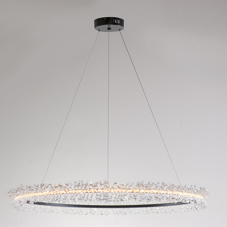 Sloped Ceiling Chandelier Living Room Light Fixtures Vault Lighting