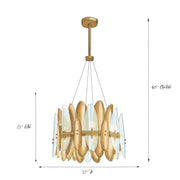 Jazz Art Deco Chandelier