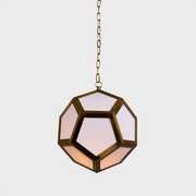 Lamont Satin Brass Pendant from The Vault