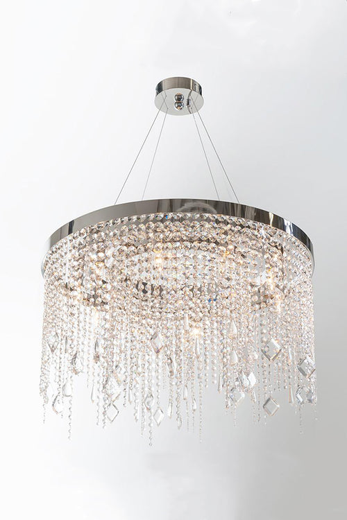ASTORIA ROUND CRYSTAL CHANDELIER