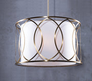 Lucia Fabric Shade Pendant