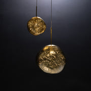 Melrose Metallic Bubble Pendant Light