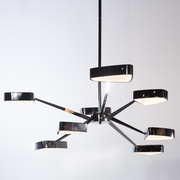 Ursa Black Pearl Contemporary Retro Chandelier