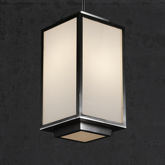 Venus Box Geometric Pendant Light
