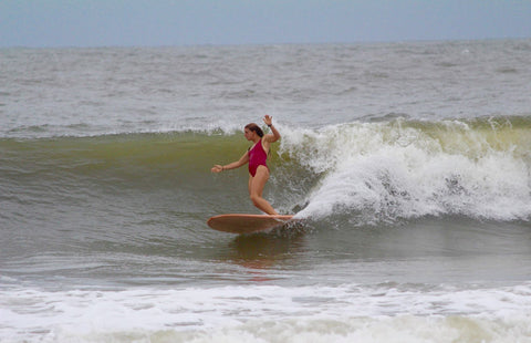 Local Charleston Surfer Kate Barattini Interview with Shred Season
