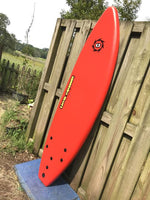 "6'0"" Liquid Shredder EZ-Slider - Red"