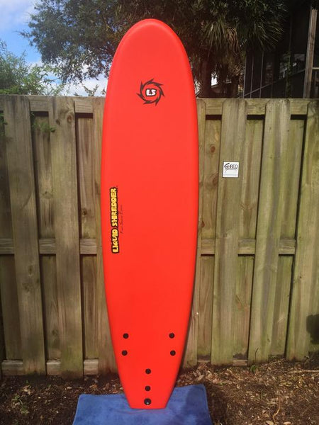 "7'0"" Liquid Shredder EZ-Slider - Red"