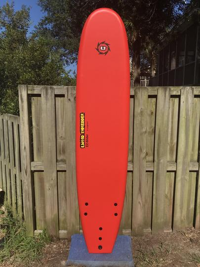 "8'0"" Liquid Shredder EZ-Slider - Red"