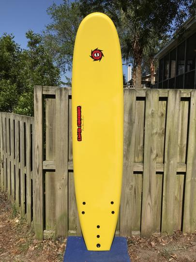 "8'0"" Liquid Shredder EZ-Slider - Yellow"