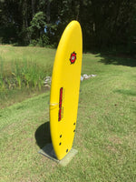 "4'11"" Liquid Shredder Black Ball Beater - Yellow"