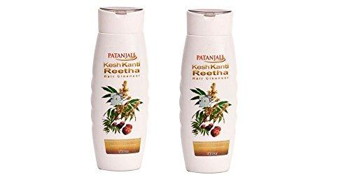 PATANJALI Kesh Kanti Reetha Hair Cleanser 200ml Pack of 2
