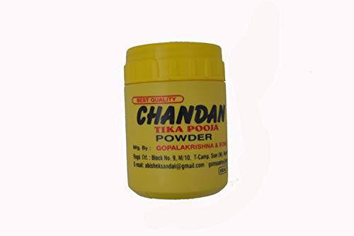 Chandan Tika Pooja Powder 50gm - wallets for men's at mens wallet