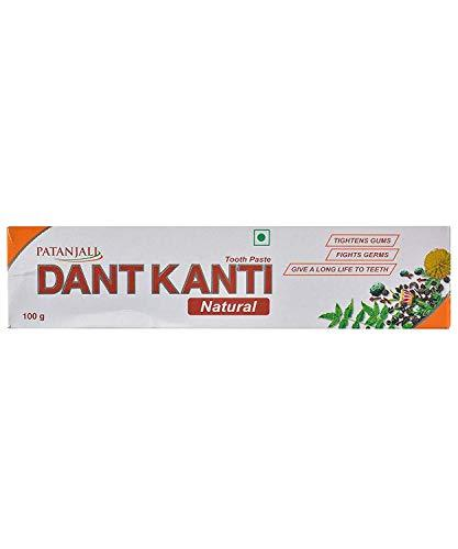 10 x Patanjali Dant Kanti Toothpaste Dental Cream 100gm (Pack of 10)
