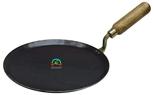 12 inch Indian Roti Iron Tawa Taper Border Pan For Chapati Bread Cooking Utensil Griddle Tava