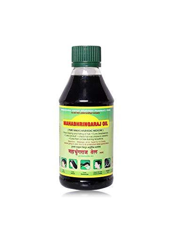 Mahabhringraj Ramakrishna Pharma Scalp Massaging Oil, 100 ml - wallets for men's at mens wallet