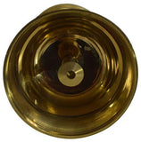 Traditional Brass Oil Lamp Puja Oil Diya Lamp Beautiful Design Deepak Pooja - wallets for men's at mens wallet